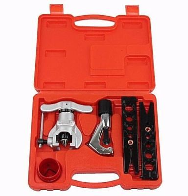Eccentric Flaring Tool Kit Flare Tool Tube Refrigeration Tube Cutter Deburring