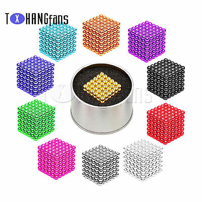 216PCS 3/5mm Magic Magnets Ball Neodymium 3D Puzzle Cube Stress Relief