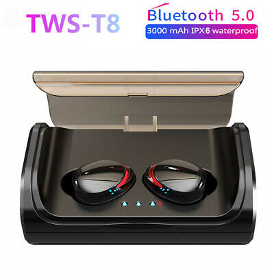 Wireless T8 TWS Earphones Bluetooth 5.0 Headset Sports Headphones Stereo Earbuds