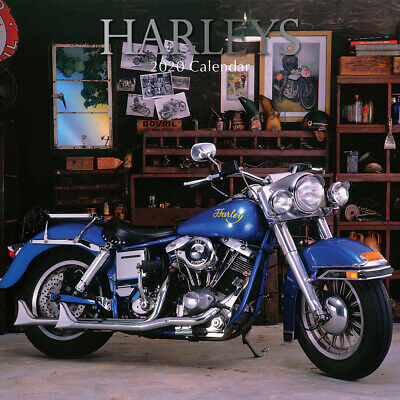 Harleys 2020 Square Wall Calendar by Gifted Stationery