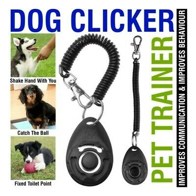 Dog Training Clicker Pet Training Clicker Trainer Teaching Tool For Dogs Puppy