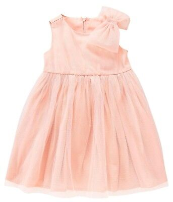 Gymboree Blushing Swan Dress Tulle Sparkle Easter Wedding Formal 18-24 2T Girl