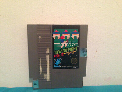 10-yard fight  NES cartridge only 5-screws canadian variant