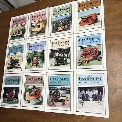 The Gas Engine Magazine 1994 Full Year 12 Issues Jan-Dec Vintage Tractors Rare