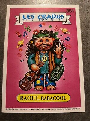 Les Crados Raoul Babacool 351 Hippie Skippy