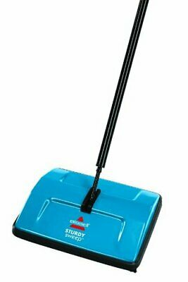 BISSELL Sturdy Sweep Floor Cleaner Blue Multi-Functional Broom Brush System