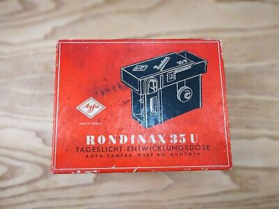 Agfa Rondinax 35 U Film Development Tank