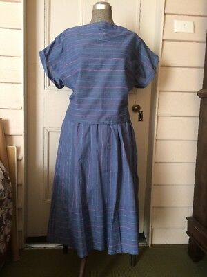 Vintage Handmade Top & Skirt Size 12 Made In The 80's
