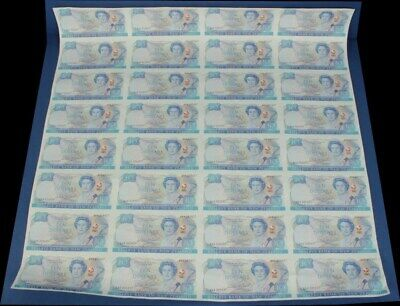 "New Zealand: 1990 $10 150th Anniv ""SET 96 NOTES IN UNCUT SHEETS"". P176 Cat $3200"