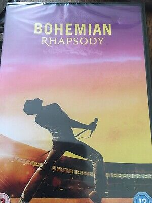 Bohemian Rhapsody DVD Brand New And Sealed Post Free