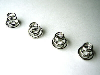 Replacement Battery Terminal Contact Springs for AA / AAA batteries - 4 of
