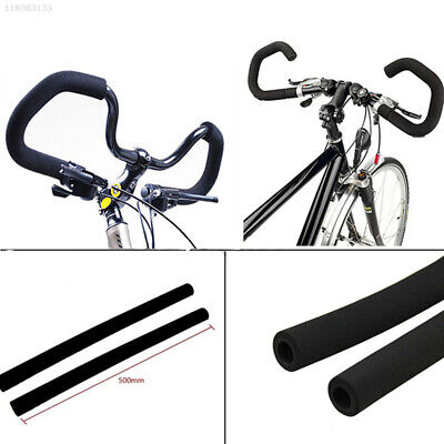 159A 2x 1 Pair Bicycle Bike Skidproof Handle Bar Grips Sponge Cover Rubber Matte
