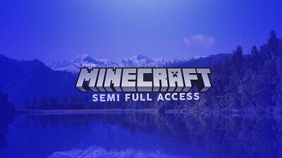 Semi-Full Access Minecraft Account