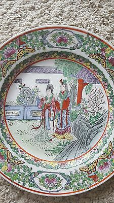 antique Chinese  porcelain plate - very nice