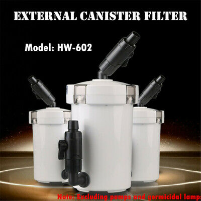 External Canister Filter Aquarium Pre-filter Fish Tank Supplies Water Cleaner
