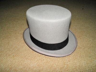 Vintage Childs Grey Top Hat - Size Small 6. 'Dyfed Menswear'