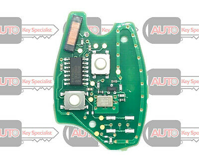 Original 2 Button PCB ID46 Chip for Vauxhall Movano