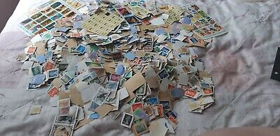 Stamps job lot of loose stamps