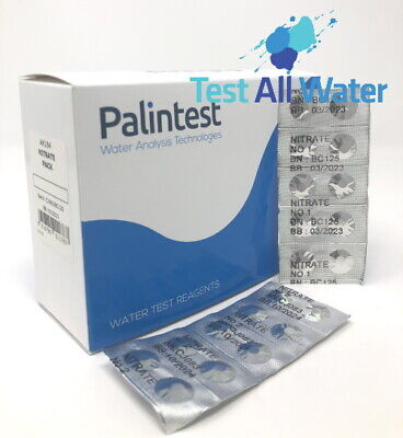 Palintest Nitrate (Nitratest) Comparator 250 Tablets
