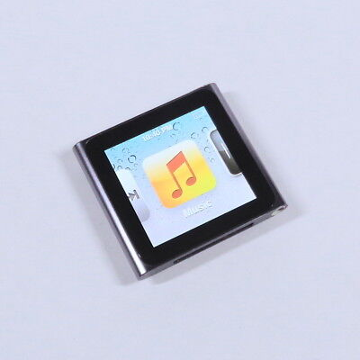 Apple iPod Nano 8GB 6th Gen Generation Graphite MP3 WARRANTY EXCELLENT