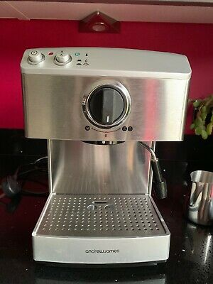 Andrew James Barista Expresso Coffee Machine with Milk Frothier and Jug