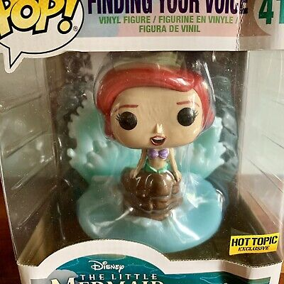 Funko Pop! Disney The Little Mermaid Movie Moment Finding Your Voice - Damaged