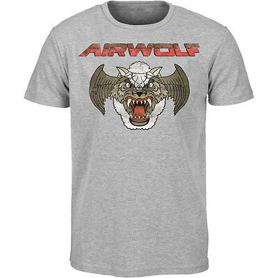 Airwolf Retro 80'S Angustiado Camiseta Dark Crystal Laberinto Thundercats 80s