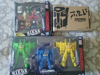 Transformers Generations Selects WFC-GS02 Red Wing Voyager, Siege Trilogy, More!