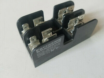 New Ferraz Shawmut Fuse Block, 30 amp 600 volt, Fuse Holder, 30312