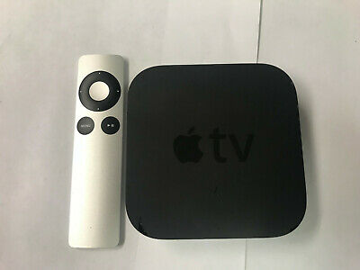 Apple TV 3rd Generation w/ Remote and Power Cable - A1469