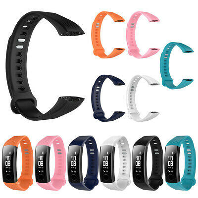Wo_ Waterproof Soft Silicone Wrist Band Watch Strap For Huawei Honor3 Smart Brac