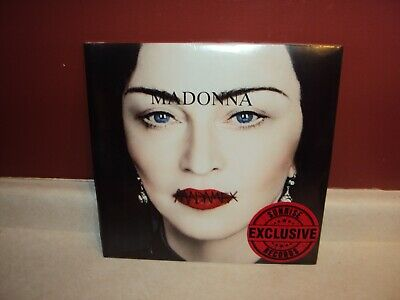 Madonna Madame X 2 Lp Clear Vinyl Record Set Sunrise Exclusive Canadian Canada