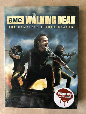 The Walking Dead: Season 8 Dvd Complete [5 Discs] -  Brand New & Fast Shipping