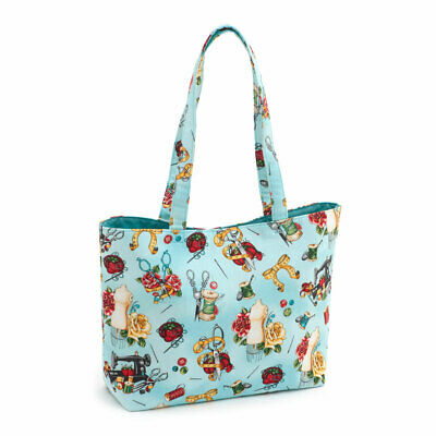HobbyGift HGTBM312 | Tattoo Notions Craft Tote Bag | 13 x 34 x 27cm