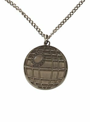 Star Wars Rare Licensed Lucasfilms Diecast Death Star Pendant Necklace Rogue One