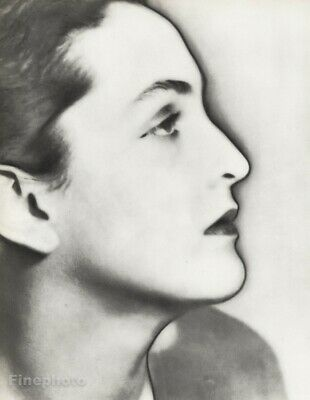 1933 Man Ray Surreal Meret Oppenheim Artist Original Solarized Photo Gravure Art