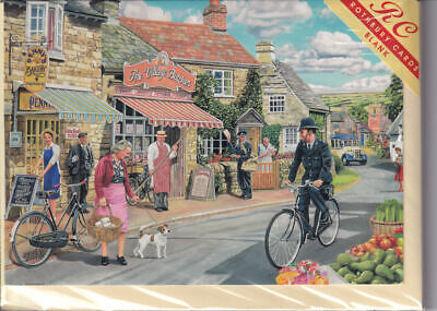birthday Rothbury nostalgia London The Carnaby Boutique 1960/'s Greetings Card