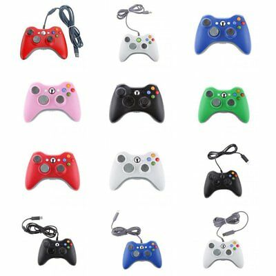 USB Wired /Wireless Dual Shock Gamepad Controller for Xbox 360 and PC Windows ns