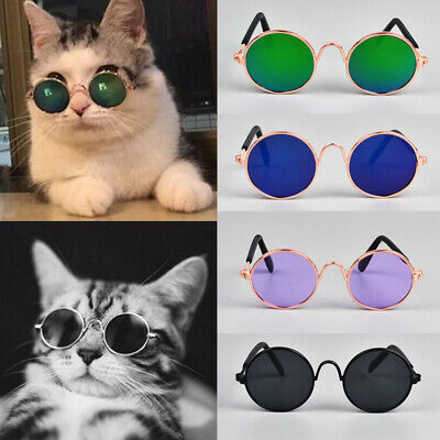 Cute Dog Cat Pet Glasses For Pet Little Dog Puppy Sunglasses Photos Props Fun A