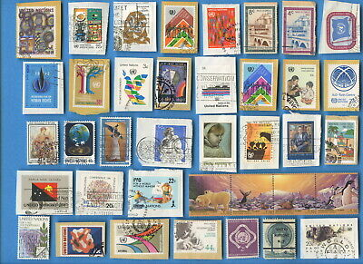 Hong Kong (British) and United Nations postage stamps 194 different [sta2225]