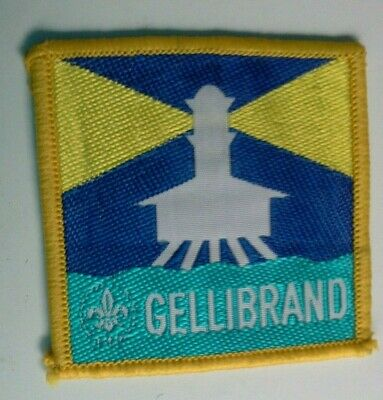 Scouts Cubs Gellibrand VIC district woven cloth patch
