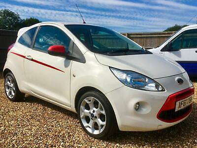 2011 61 Ford Ka 1.2 Grand Prix. 2 owners. Ice cold A/C. £30 p/a Tax.