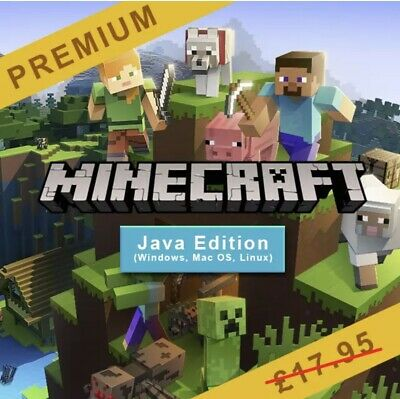 Minecraft Premium Accounts: Java Edition (Windows, Mac OS, Linux)| FULL ACCESS