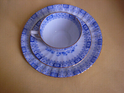 China Blau  3-teiliges Kaffeegedeck- Seltmann Weiden  - Set2