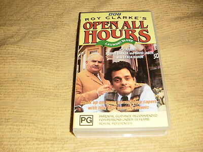 OPEN ALL HOURS Laundry Blues VHS TAPE NEW & SEALED TV series season VIDEO PAL
