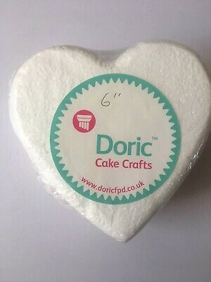 "Doric 6"" Heart 3 Inch High Rounded Edge Dummy"