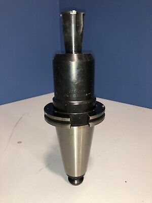 "Valenite GTE 1"" Diameter CAT-50 End Mill Holder, V50CT-E100, 8-M-2"