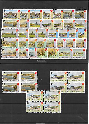 Isle Of Man  Selection Of Deffs  Mnh 1973 Lot A111