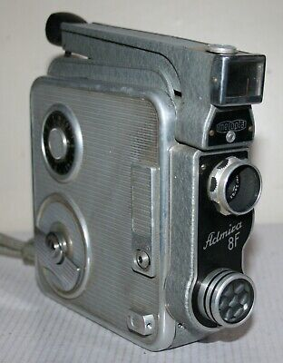 Meopta Admira 8F - Standard 8mm Cine Film Camera - Home Movie