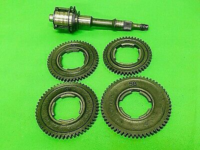 Vespa Super Sprint 90Ss Loose Gears Drive Shaft And Gear Selector